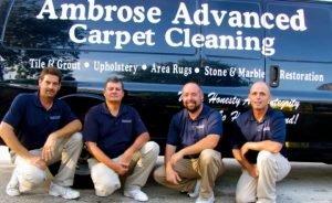 Ambrose Advanced Carpet Cleaning crew
